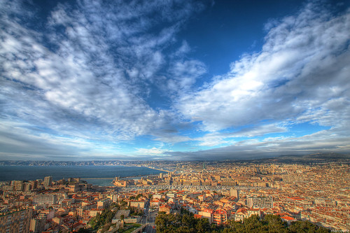 france marseille cityscape view provence paysage vue hdr 3xp nddelagarde