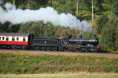 BR / LSWR ( Nine Elms ) Drummond Class T9 'Greyhound' 4-4-0 30120