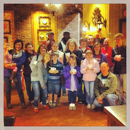 We Will Go invades Swirly Treats. #wewillgoministries #lifeatwewillgo #smiles #friends #family #food #swirlytreats #betsie #david #familyfun #missionaries #missionarykid