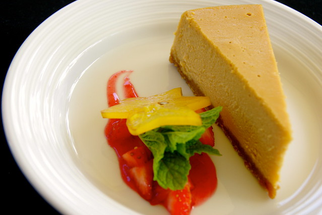 coffee cheesecake at kauai marriott