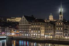 Full Moon in Zürich