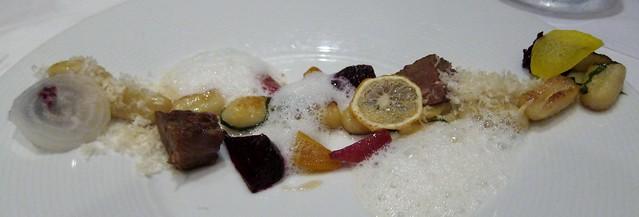 Gnocchi - beet, veal, lemon, parmesan