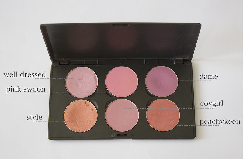 mac blush palette