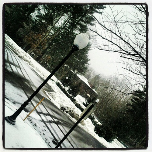 Here comes the #snow again... #manchvegas #newhampshire #winter