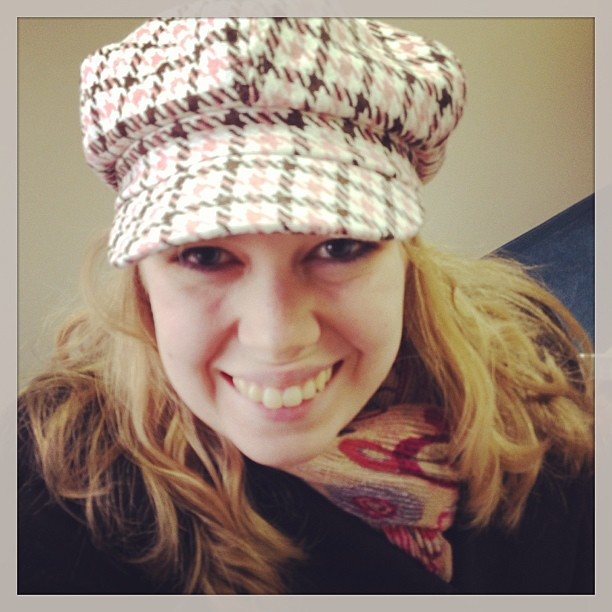 I don't like the cold weather, but I do like that I can wear cute hats!