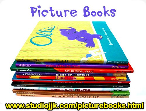 Picture books by Jarrett Krosoczka