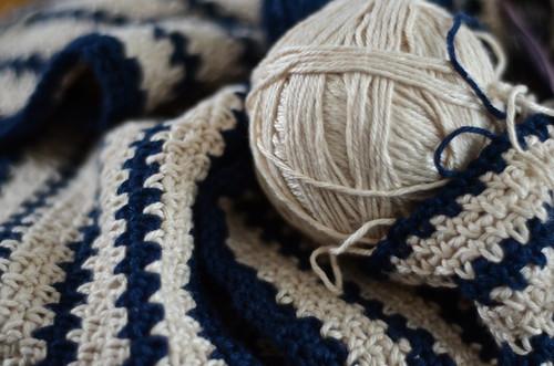 stripey crochet