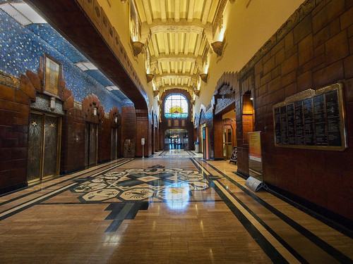 Inside the Marine Building