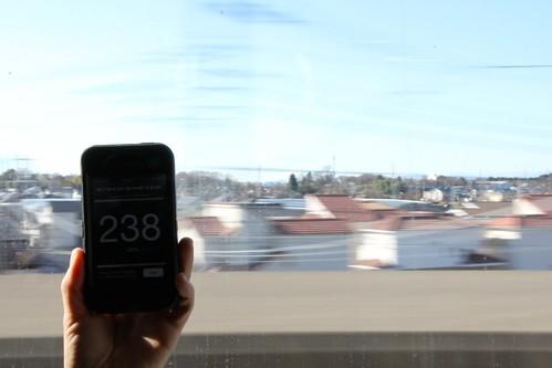 238 km/hr