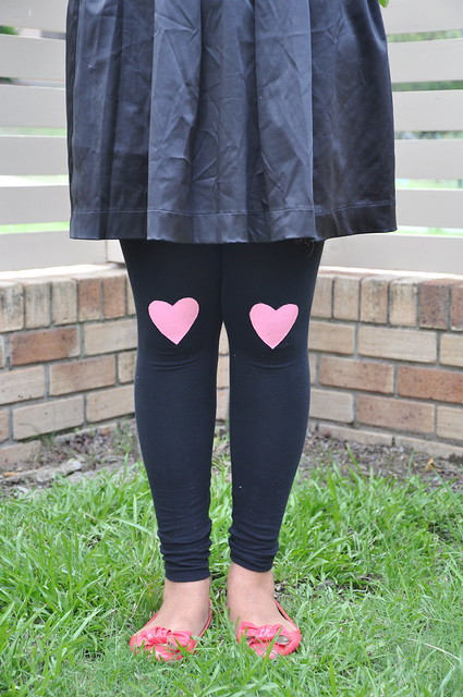 Heart Leggings Tutorial