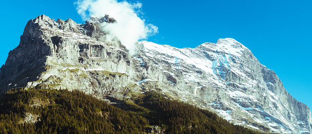 (99MP Panorama) Eiger from Grindelwald