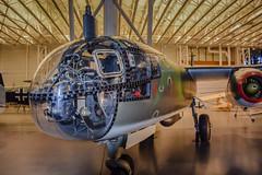 WWII German Luftwaffe Arado Ar 234 Blitz Jet Bomber at National Air and Space Museum - Steven F. Udvar-Hazy Center - Chantilly VA