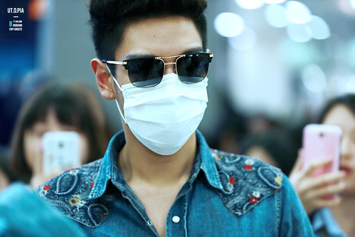 Big Bang - Gimpo Airport - 20may2015 - TOP - Utopia - 05