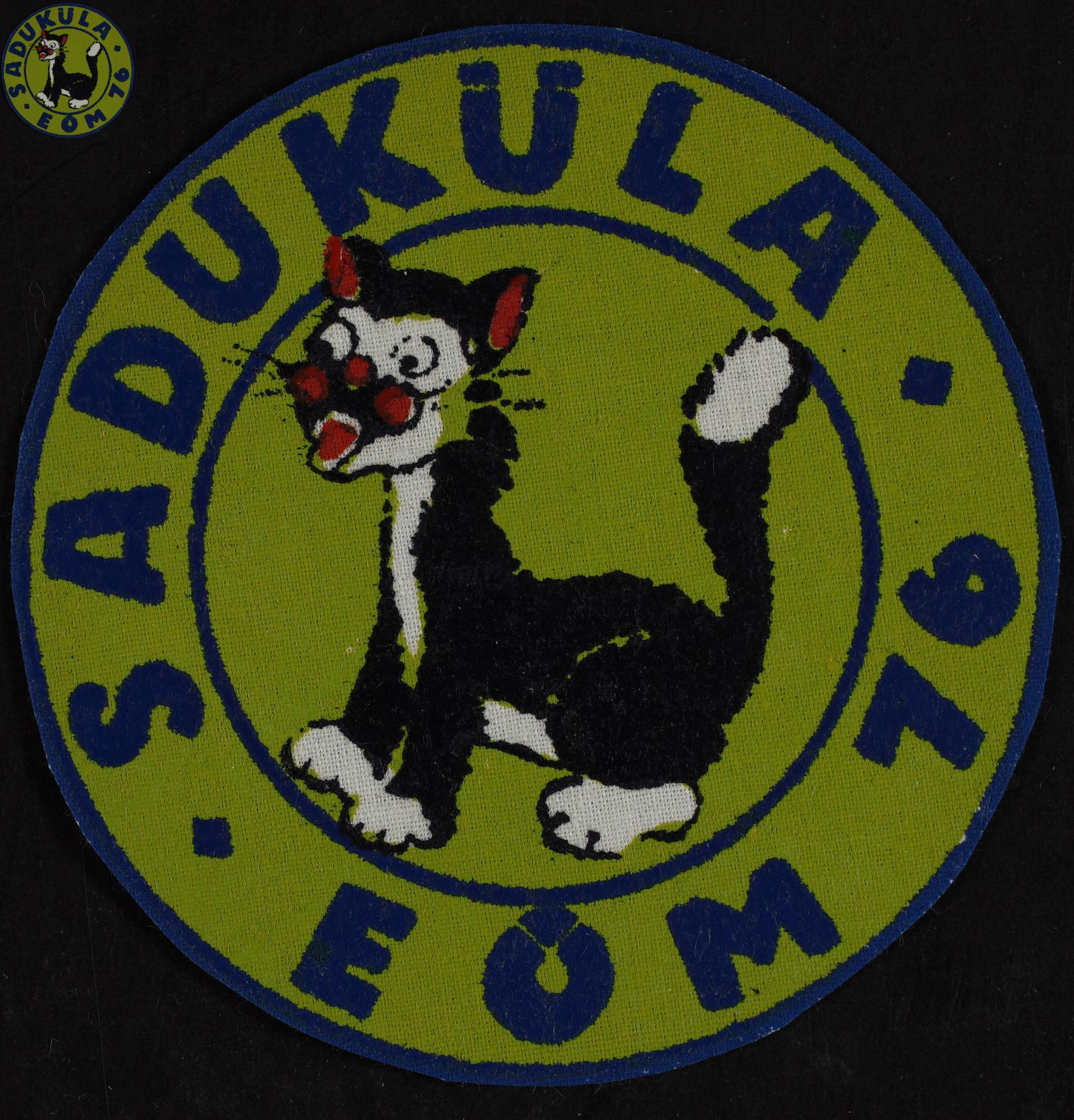 Maleva embleem, Saduküla 1976 / Secondary School Students' Building Brigade emblem, Saduküla 1976