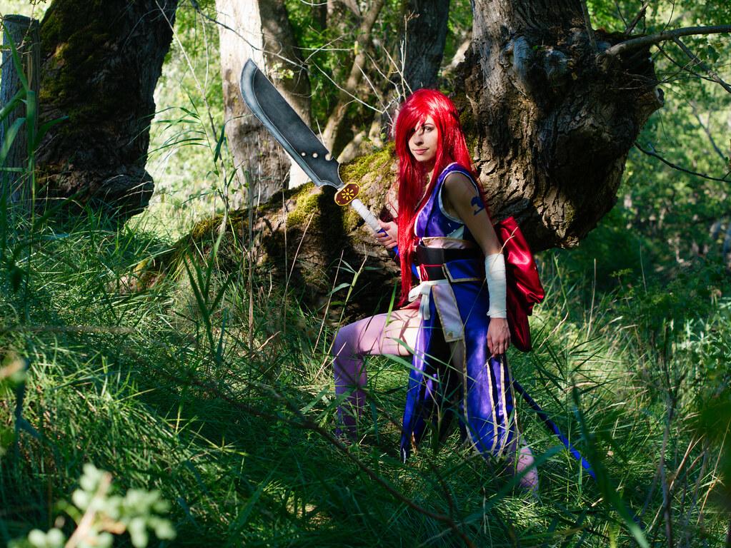 related image - Shooting Erza Scarlet - Robe de Yuen - Alpes de Haute Provence - 2016-08-14- P1520128
