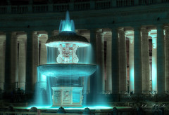 Fountain on St. Peter's Square