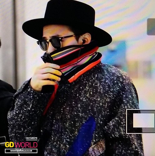 Big Bang - Gimpo Airport - 15jan2015 - G-Dragon - GD World - 04