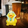 Ramases and a pint of Cleopatra! #beer #rubberduck #nottingham