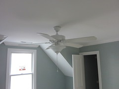daylighting, room, molding, ceiling fan, ceiling, mechanical fan, plaster, lighting,