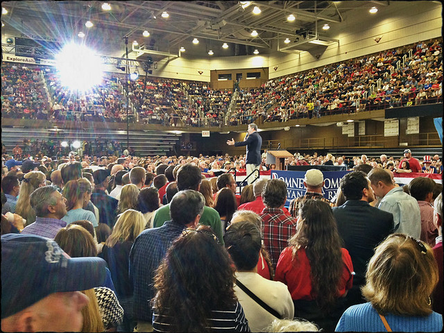 Speaking at the Romney Victory Rally in Asheville