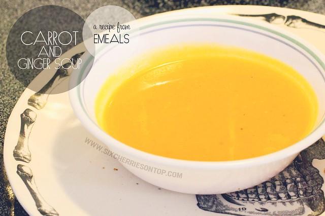 emeals_carrot ginger soup