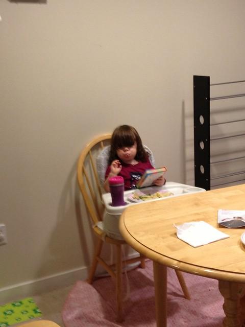 Dinner reading