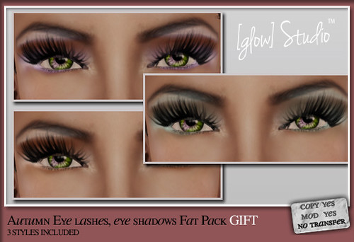 [ glow ] studio Autumn lashes, shadows GROUP GIFT!