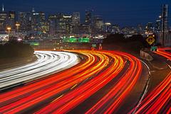 San Francisco 旧金山夜景 Scène Nuit