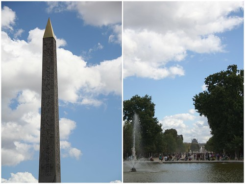 Luxor Obelisk; The Tuileries Garden