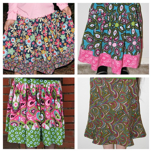 KCWC Skirt Collage
