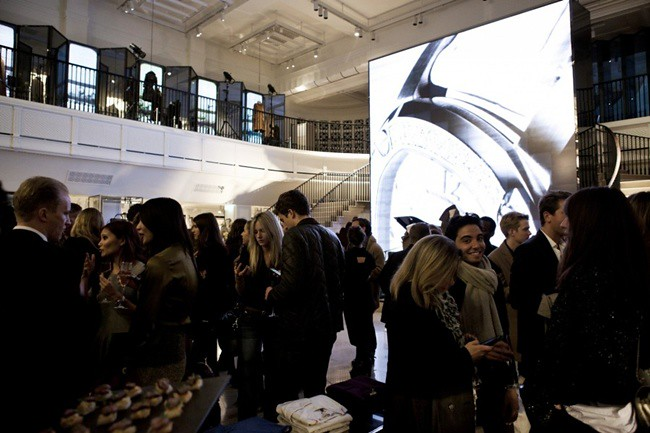 2 Burberry celebrates The Britain at Burberry Regent Street, London 2 October2