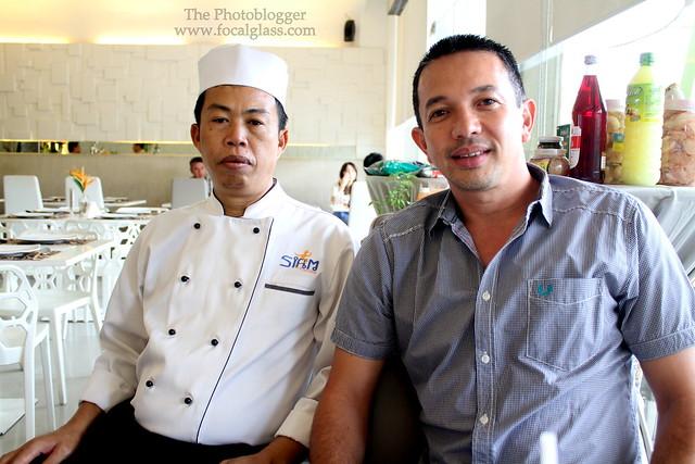Master Chef Suphap Tubhongsa