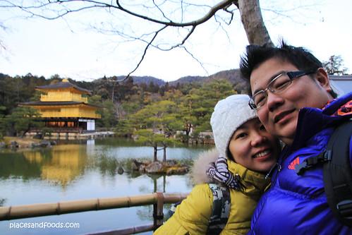 Kinkaku-ji 金閣寺 Golden Pavilion wilson and rachel
