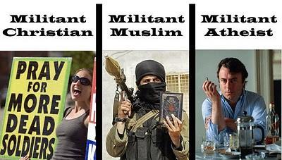 Militant Atheist.
