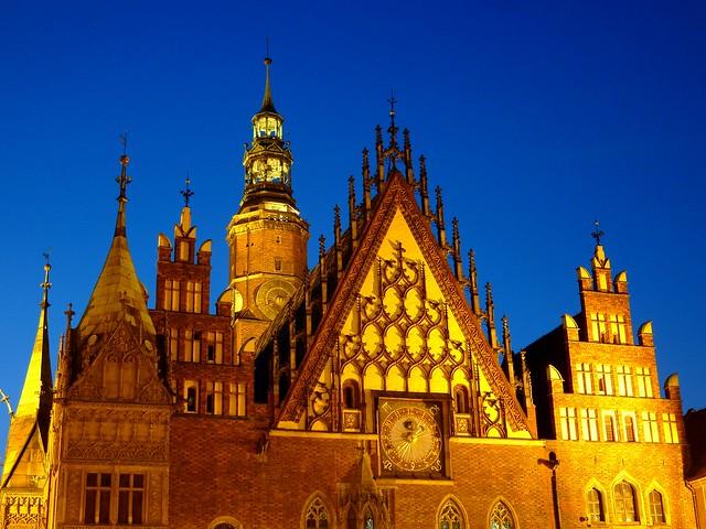 Wroclaw's ratusz / Rathaus (town hall), Poland