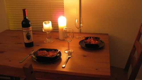 romantic dinner for two