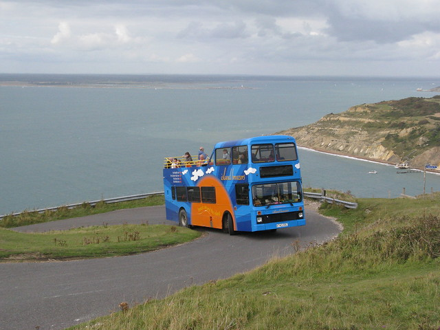 "Southern Vectis 743 at ""The Needles"""