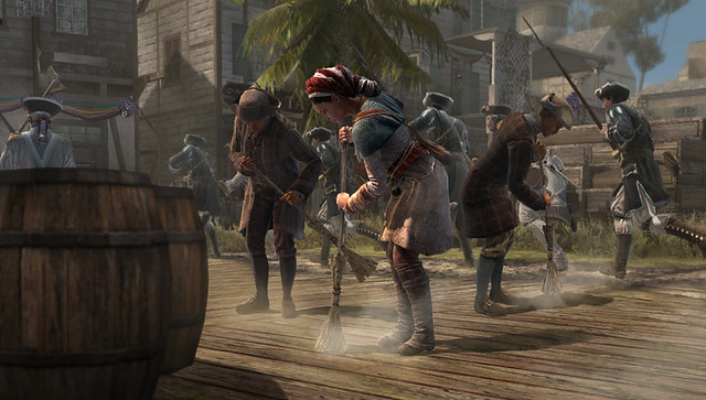 Assassin's Creed III: Liberation para PS Vita - Servant persona