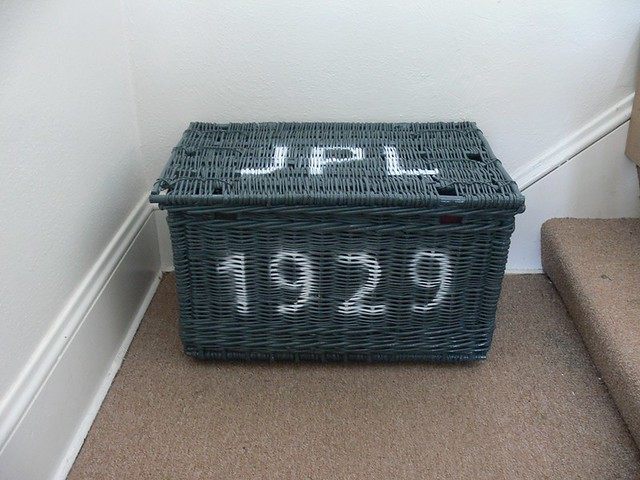 Jenny: Wicker Trunk Revamp