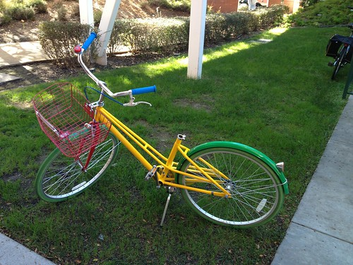 Google bike - free to use to get around campus