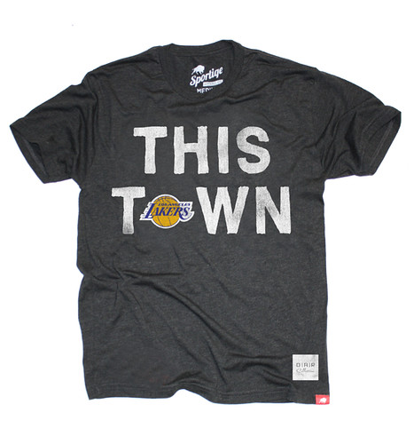 Lakers (OAR Collective) This Town T Shirt By Sportiqe