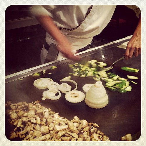 Teppan Edo #Japan - our favorite place to eat @ #wdw #epcot #greatfood