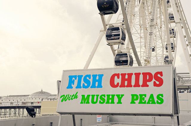 mushy peas?