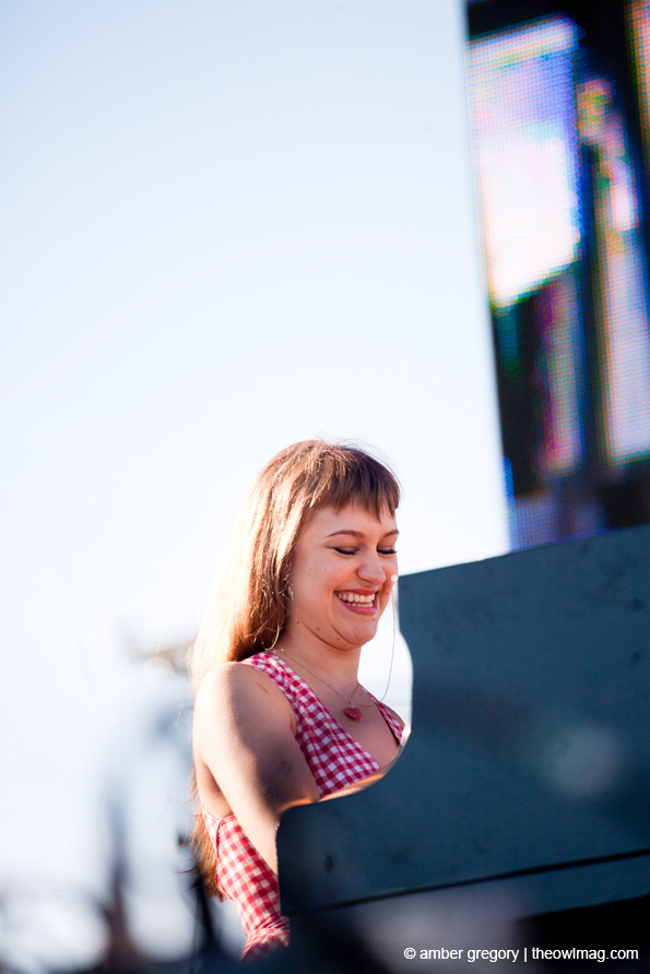 Joanna Newsom @ Treasure Island Festival, SF 10/14/12