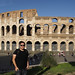 Me at the Colosseum, Rome by Duane Storey