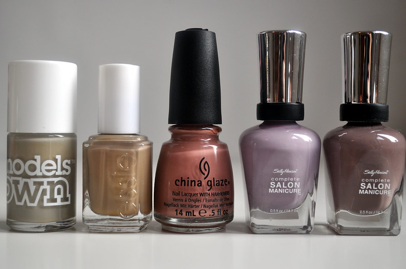 top 5 autumn nail polishes