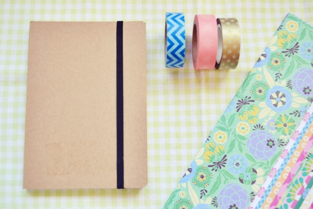 libreta decorada con washi tape (1)