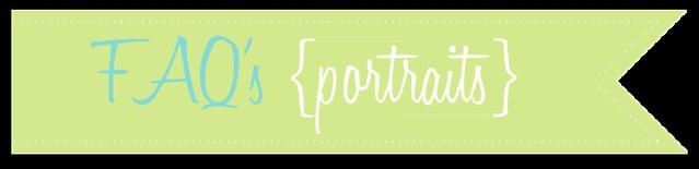 b_FAQs portraits