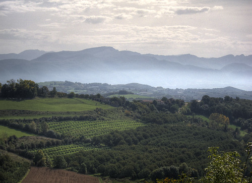 View Over the Isere Valley from Montmiral