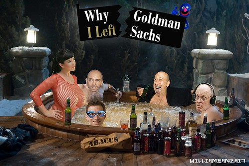 WHY I LEFT GOLDMAN SACHS (Andrew Ross Sorkin cameo) by Colonel Flick